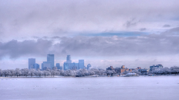 Minneapolis in the Mantle of Winter